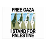 FREIES SICHERES GAZA PALESTINE.png Postkarten