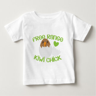 Freies Strecke KIWI-Küken Neuseeland Baby T-shirt