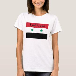 Freies Syrien Flagge Syriens - سورياالحرة T-Shirt