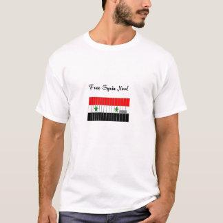 """""""Freies Syrien JETZT!"""" Aktivisten-Shirt T-Shirt"""