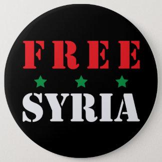 FREIES SYRIEN RUNDER BUTTON 15,3 CM