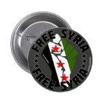 Freies Syrien Runder Button 5,1 Cm