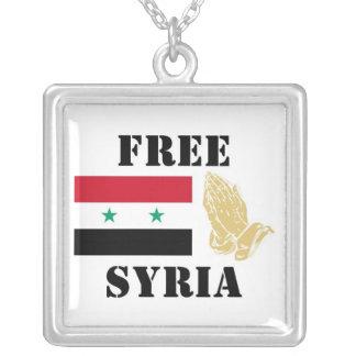 FREIES SYRIEN VERSILBERTE KETTE