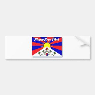 Freies Tibet Auto Sticker