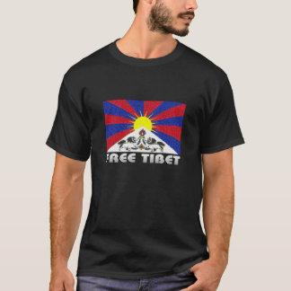 Freies Tibet-Protest-Schwarzes T-Shirt