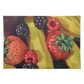 Freigebige Früchte Tischset
