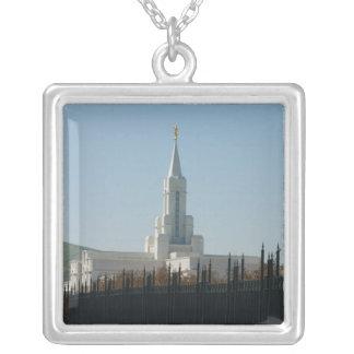Freigebiger Tempel Utahs LDS Versilberte Kette