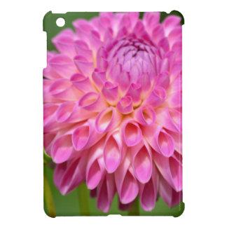 Freigebiges rosa Dahlie-und Knospen-Plakat iPad Mini Hülle