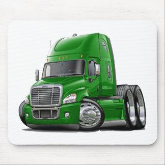 Freightliner Cascadia grüner LKW Mauspad