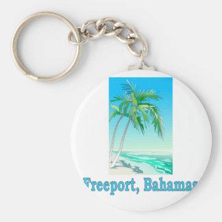 Freihafen, Bahamas Schlüsselanhänger