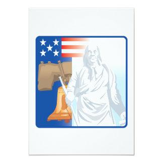 Freiheit 12,7 X 17,8 Cm Einladungskarte