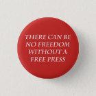 """""""Freiheit 1"""" Knopf Runder Button 2,5 Cm"""