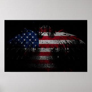 Freiheit Eagle Poster