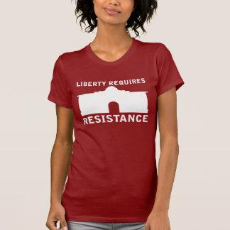 Freiheit erfordert Widerstand T-Shirt