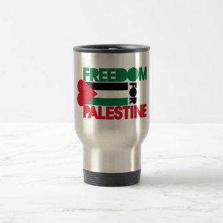Freiheit für Palästina Reisebecher
