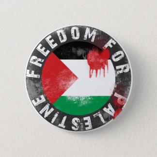 Freiheit für Palästina Runder Button 5,1 Cm