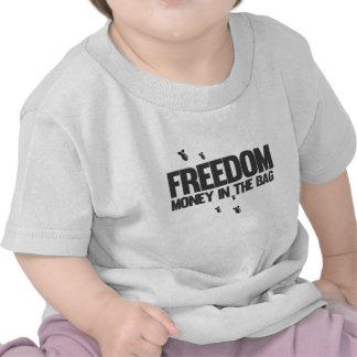 Freiheit - Geld in der Tasche - Geld, das Krieg T Shirts