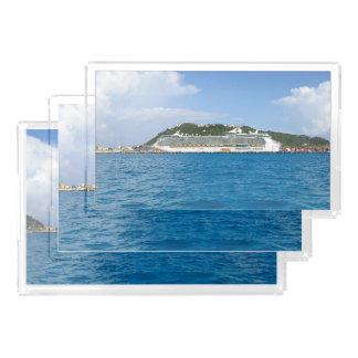Freiheit in St Martin astrP108 Acryl Tablett