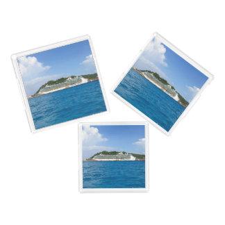 Freiheit in St Martin astsP109 Acryl Tablett