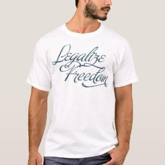 Freiheit-Liebender liberalistischer T - Shirt