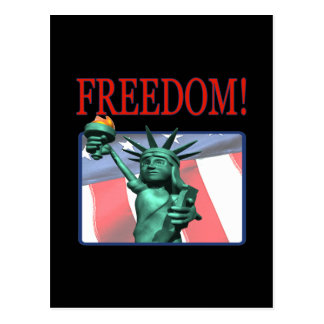 Freiheit Postkarte