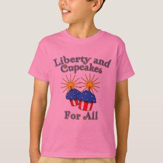Freiheit und kleine Kuchen für alle Produkte T-Shirt