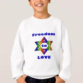 Freiheit zur Liebe Zazzle.png Sweatshirt