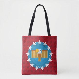 Freiheits-Adler-(rot) - Taschen-Tasche Tasche