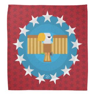 Freiheits-Eagle (rot) - Bandana Kopftuch