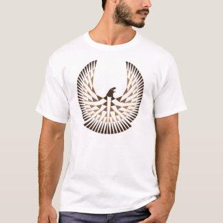 Freiheits-Häuschen-Logo-Shirtbraun T-Shirt