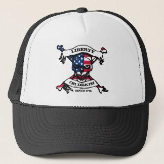 Freiheits-oder Todesfernlastfahrer-Hut Truckerkappe