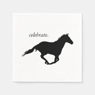 Freiheits-Pferd Serviette