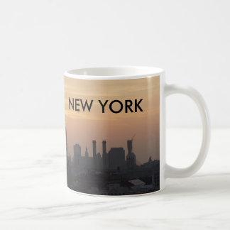 Freiheits-Sonnenuntergang Kaffeetasse