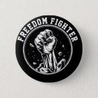 Freiheitskämpferfaust-Logoprodukte Runder Button 5,7 Cm