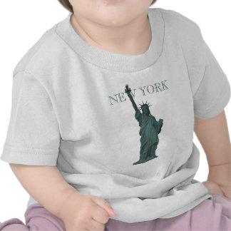 Freiheitsstatue Baby-New- YorkShirt-NYC Andenken Hemden
