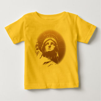 Freiheitsstatue Baby-New- YorkShirt-NYC Andenken T Shirt