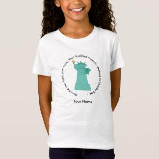 Freiheitsstatue den T - Shirt der Mädchen