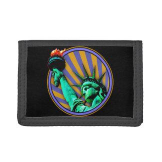 Freiheitsstatue Emblem-Entwurf