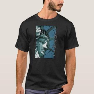 Freiheitsstatue Entwurf T-Shirt