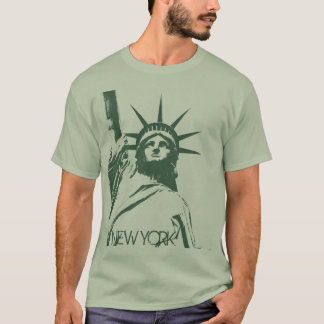 Freiheitsstatue grundlegenden T - Shirt T -