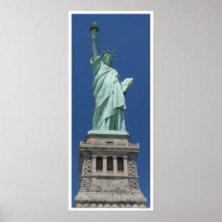 Freiheitsstatue/hohe Auflösung Poster