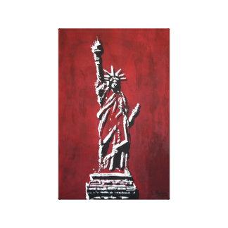 Freiheitsstatue – Libertas Leinwanddruck