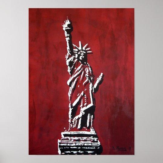 Freiheitsstatue – Libertas Poster