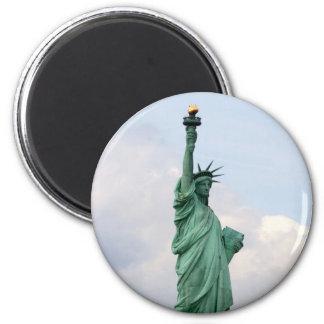 Freiheitsstatue Magneten Runder Magnet 5,1 Cm