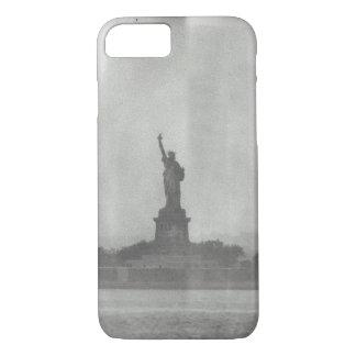 Freiheitsstatue nasse Platten-Blick Iphone 8/7 iPhone 8/7 Hülle