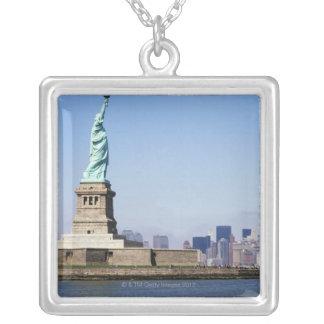 Freiheitsstatue, New York City, New York Versilberte Kette