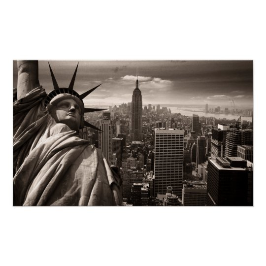 Freiheitsstatue, New York, Plakat