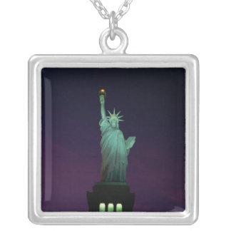 Freiheitsstatue, New York, USA 7 Versilberte Kette