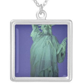 Freiheitsstatue, New York, USA Versilberte Kette