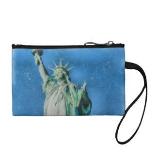 Freiheitsstatue, New- YorkAquarellmalen Kleingeldbörse